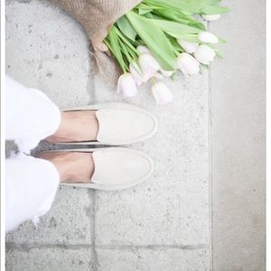 M. Gemi Felize driver loafer shoe white 39.5